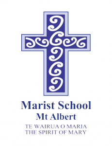 Marist Mt Albert Spirit of Mary logo